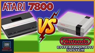 Atari 7800 VS Ninтendo Entertainment System - Atari 7800 Part 2 - Video Game Retrospective