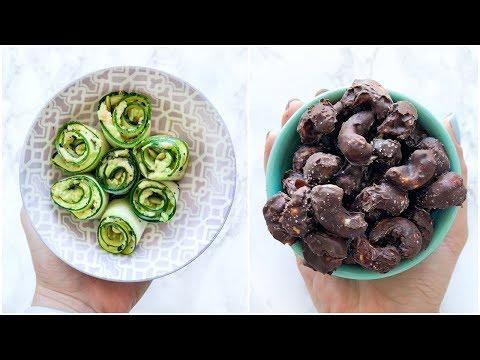 5 Healthy Snack Ideas | Easy, Quick & Simple Snacks