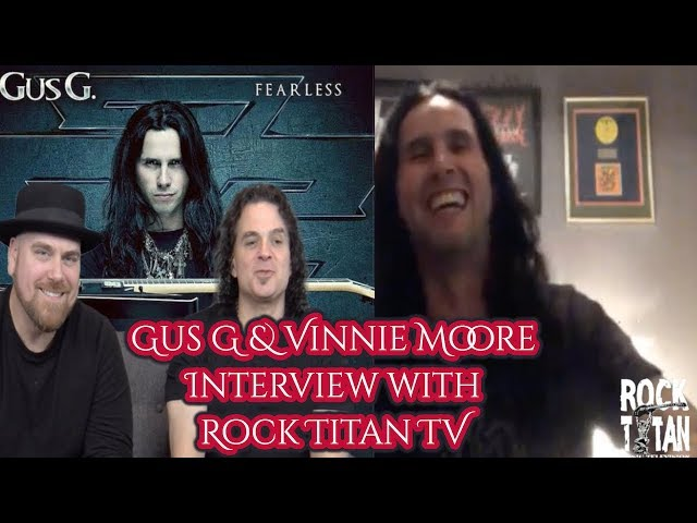 Gus G and Vinnie Moore share tour stories with updates on UFO and Firewind