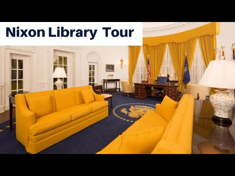 A Look Inside the New Museum - The Nixon Library