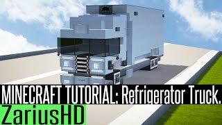 minecraft tutorial refrigerator build truck