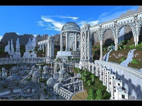 minecraft build showcase 2 lost city of atlantis youtube