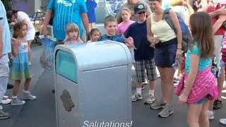 Disneyworld Talking Trash Can