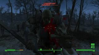 Fallout 4 Русская озвучка и топ геймплей на тачпаде