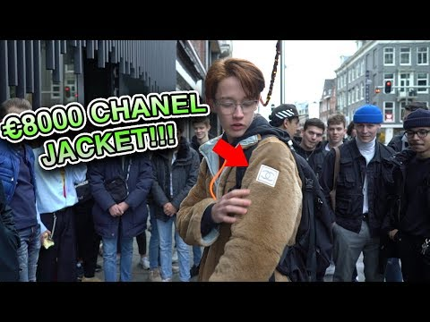 How Much is Your Outfit? ft. €8000 CHANEL JACKET!!!!! AMSTERDAM