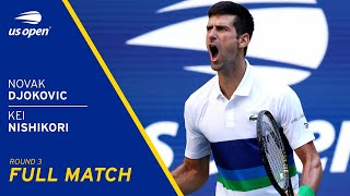 Novak Djokovic vs Kei Nishikori Full Match