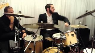 Chesky Schwartz Drumming at  Wedding in Ateres Chai