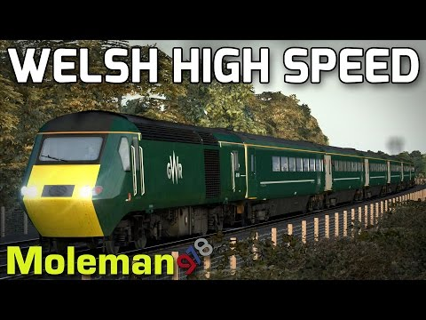 Welsh High Speed! | TS2016 | GWR Class 43 HST | South Wales Coastal