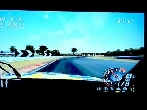 v8 supercars 3 hot lap Darwin