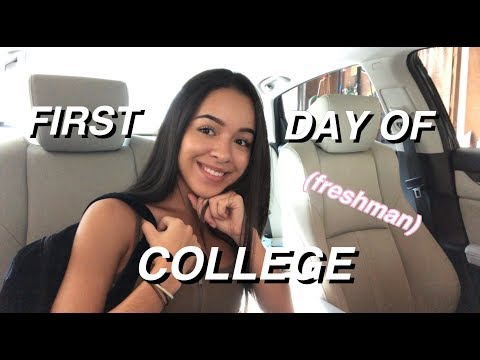 LIFE OF MIMI #3: First day of college VLOG! + GRWM