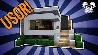 Minecraft  - Cum sa faci o casa moderna simpla #2