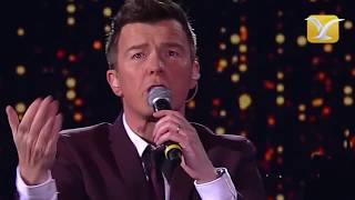 Rick Astley - Never Gonna Give You Up - Festival de Viña del Mar 2016 HD
