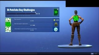 MERCI FORTNITE DEBLOCK THE CADEAUX (Saint Patrick's Day) - A FREE PACK WITH 2000 V-BUCKS