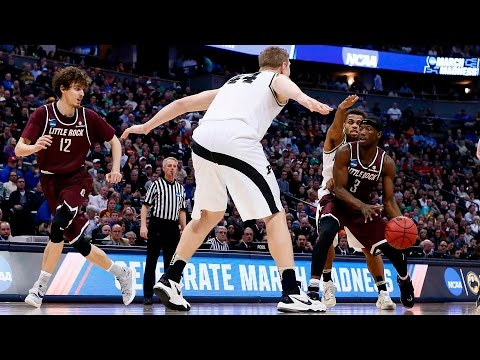 First Round: Arkansas-Little Rock upsets Purdue