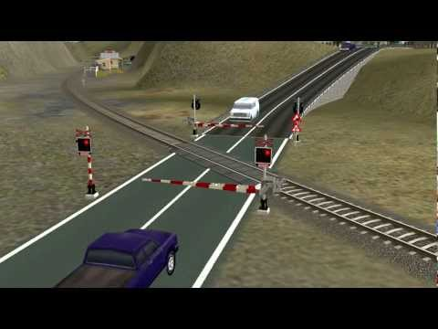 TRS2006 - czech railroad crossing