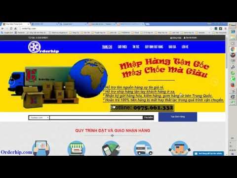 Hướng dẫn mua hàng Trung Quốc, Order hàng Trung Quốc giá rẻ. | Foci