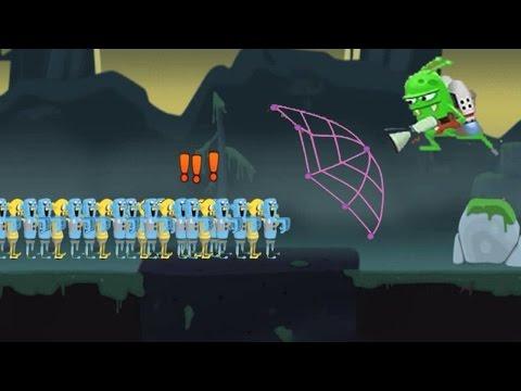 ОХОТНИКИ на ЗОМБИ Мультик Игра для детей про ЛОВЦОВ ЗОМБИ Zombie Catchers