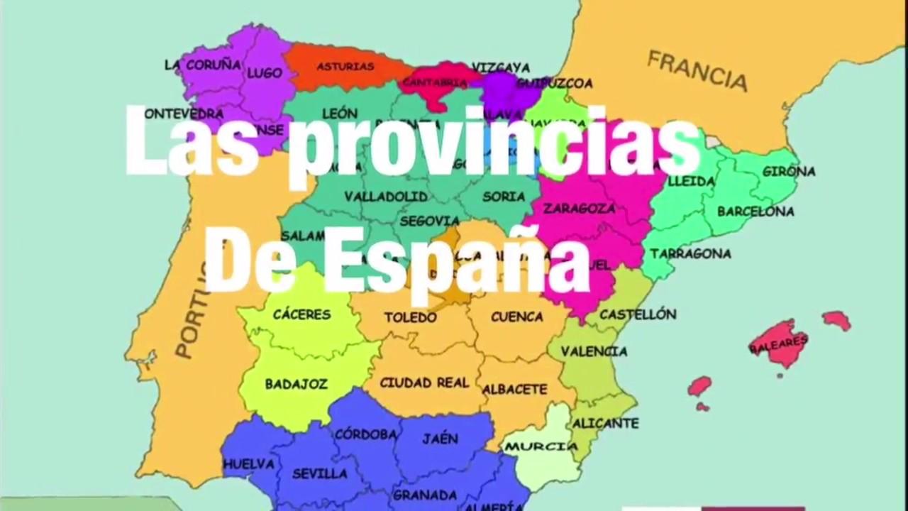 Resultado de imagen de provincias de españa