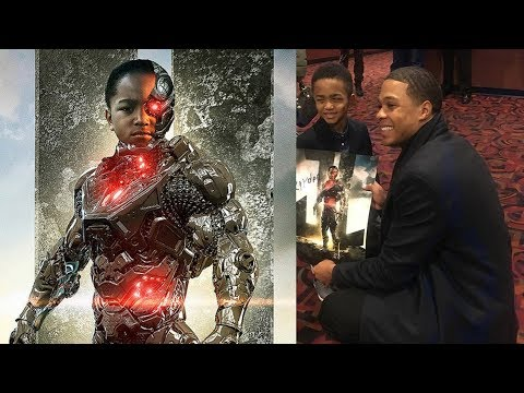 Ray Fisher meets double amputee super  representationmatters