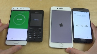 Nokia 150 vs. iPhone 7 Plus - Which Is Faster?