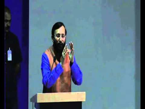Shri Prakash Javadekar deliveres lecture on India's Perspect