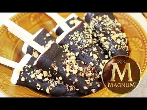 How to Make Ice Cream Magnum