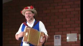 A Morris Man at Accordion Competition - Drover