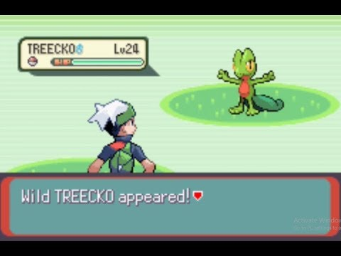 How To Catch Treecko In Pokemon Emerald