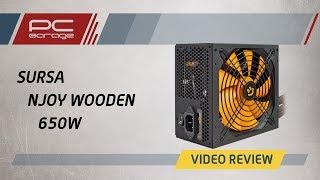 Скачать PC Garage Video Review Sursa NJoy Woden 80 Gold 650W