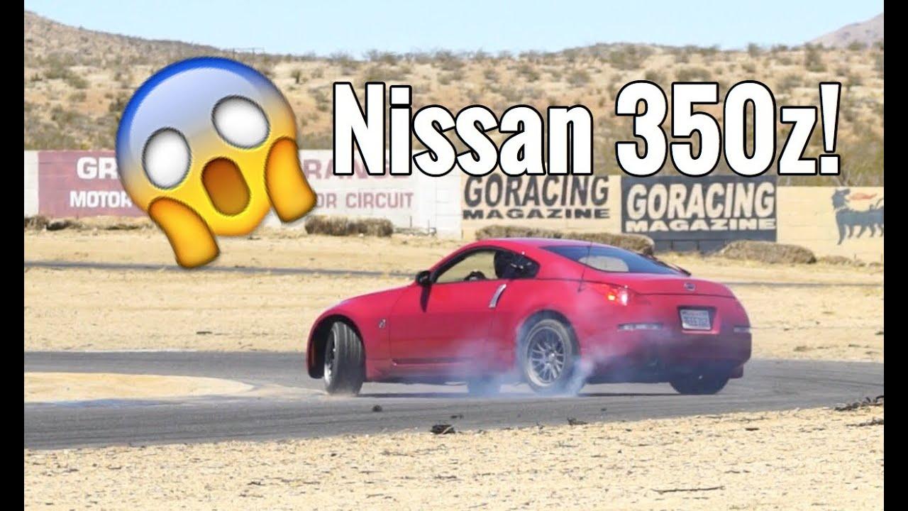 DRIFTING IN MY 350Z!! FINALLY!!