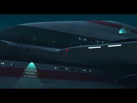 "Scimitar Flyby Test #2  from the scifi saga ""Novum Chronicles"""