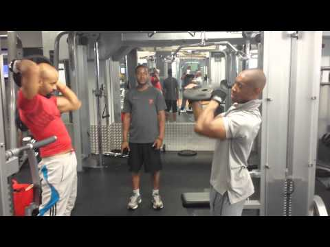 VIP and JRX Fitness First Workout 29