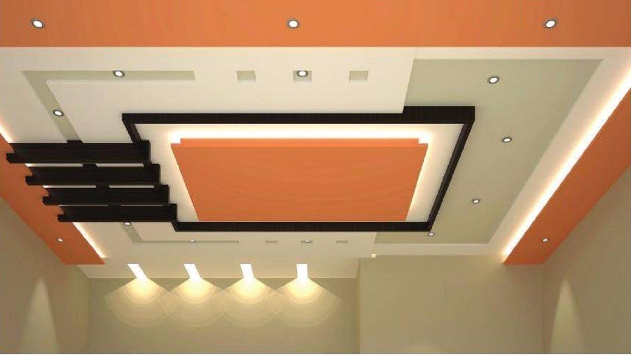 Ceiling Designs For Living Room 2018 Set Ashley Furniture False Design Kitchen Bedroom With Fan Lighting Installation Ideas