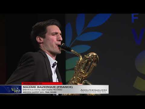 Andorra SaxFest 2019 - Maxime BAZERQUE - Bab Boujloud by Jean Charles RICHARD