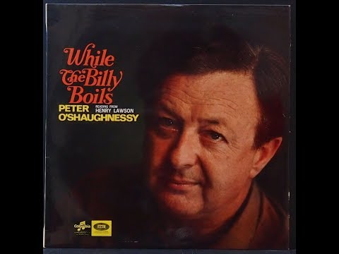 Peter O'shaughnessy OAM Australian actor interview & Barry Humphries Sandy Stone recording