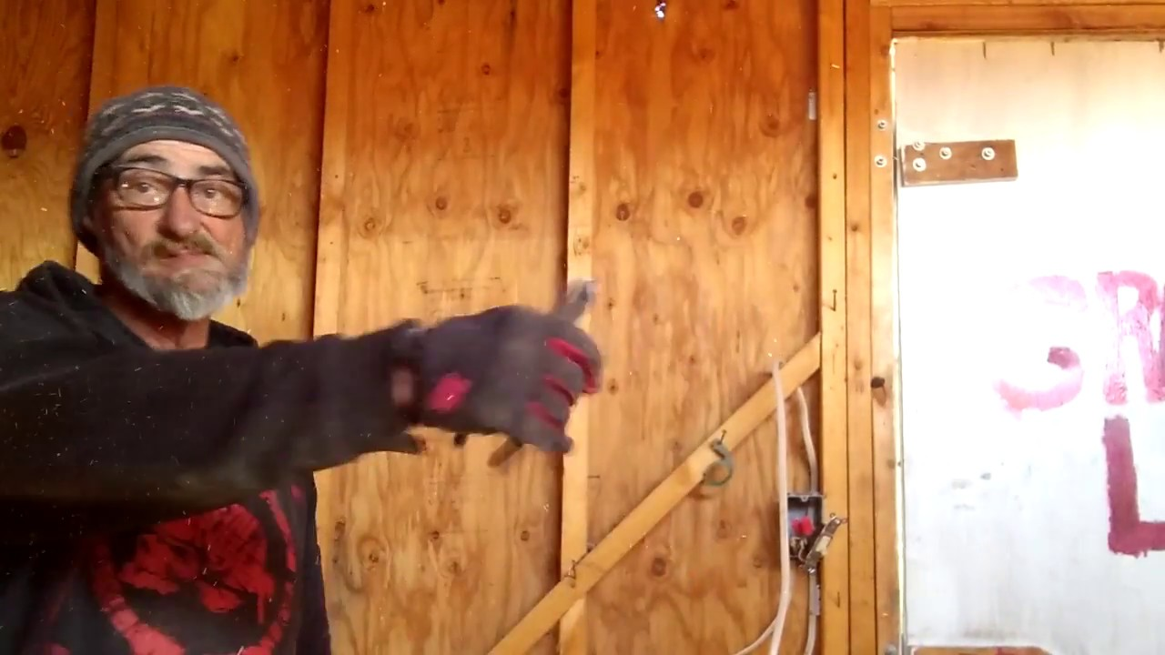 Removing 3 Wire Romex from Your Shed - YouTube