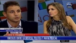 dr juan pablo fioribello amrica 24 corrupcin policial 15 05 16
