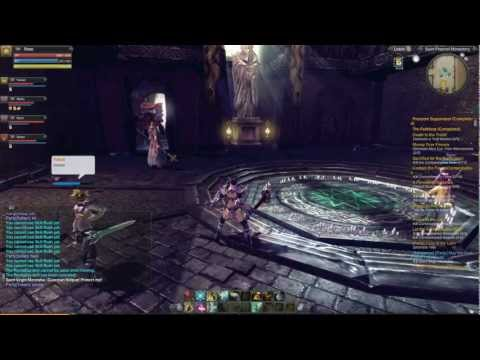 Raiderz Gameplay – Monastery Final Boss (Diago Server)