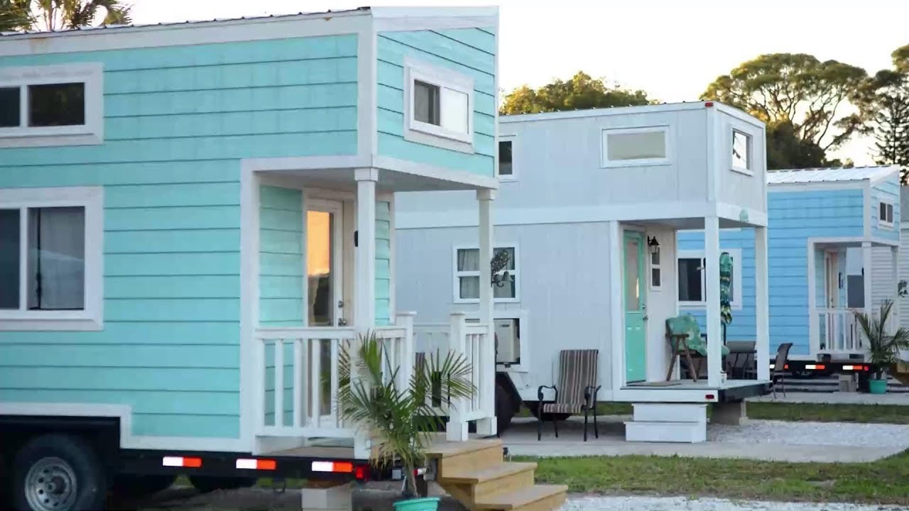 This Florida Beach Resort Is Filled With The Cutest Tiny Homes Southern Living