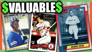 10 EXPENSIVE BASEBALL CARDS WORTH MONEY - VALUABLE BASEBALL CARDS TO ...