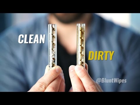 The Best Way to Clean Your 7pipe Twisty Glass Blunt