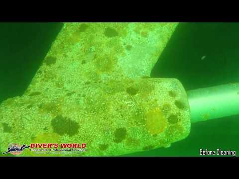 Underwater Yacht Cleaning