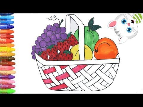 Вопрос: Как рисовать фруктами и овощами?