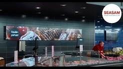 K-citymarket Iso Omena - Palvelulinjaston digitaaliset näytöt