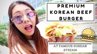 HANWOO PREMIUM beef burger you MUST try | CHEAP EATS EP3