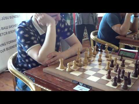 GM Vladimir Fedoseev - GM Daniel Fridman, Caro Kann Advance Variation, Rapid chess live