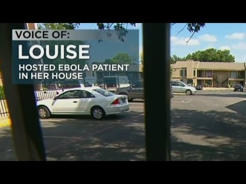 Partner of Ebola patient: I was scared