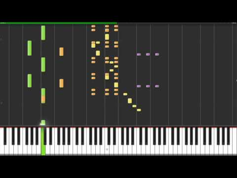 Synthesia Song #10 Benny Hill Theme[HD]