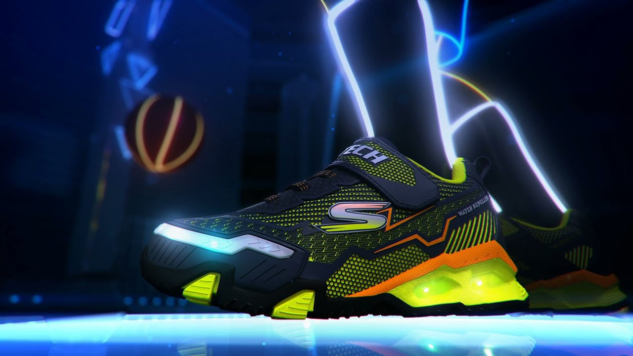 Lighted Footwear for Boys - YouTube