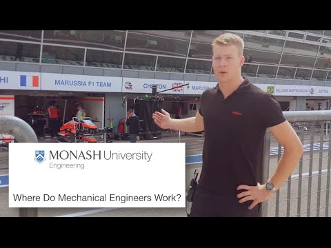 Where Do Mechanical Engineers Work?
